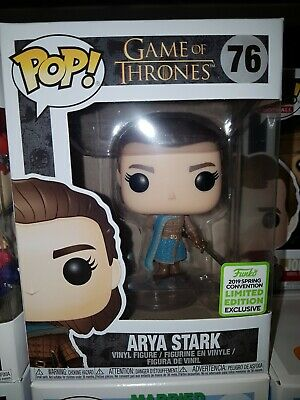 Funko Pop Game of Thrones #76 Arya Stark ECCC / Box Lunch Exclusive