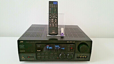 JVC RX-8000V A/V Receiver With Remote & Manual ~Excelent Condition~ ~Tested~