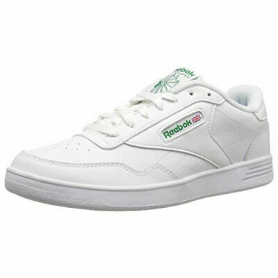 Reebok Men's Club MEMT 4E Extra Wide Classic Shoes V70198 - White/Green