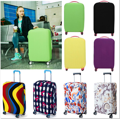 Elastic Luggage Suitcase Cover Protective Bag Dustproof Case Anti Scratch