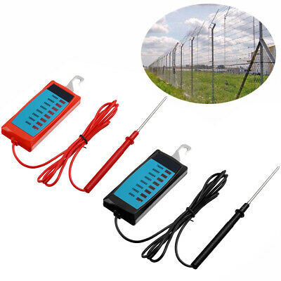 Electric Fence Voltage Tester Fault Energiser Farm Solar Fence Fenceline Tool