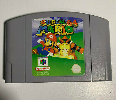 Super Mario 64 for Nintendo 64 N64 - Video Game Cartridge Only - PAL - Genuine