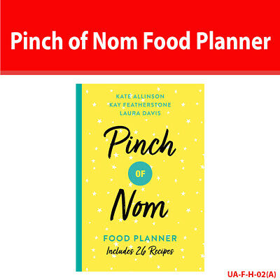 Pinch of Nom Food Planner Includes 26 New Recipes Low Fat Diet Paperback NEW