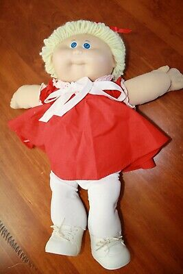 Cabbage Patch Kids - Vintage girl with Blonde Hair