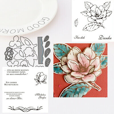 Flower Metal Cutting Dies Stamp Scrapbooking Stencil Album Paper Cards Decor Sal