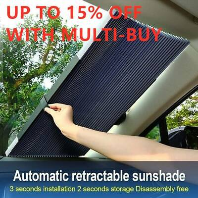 New Car Retractable Windshield Sun Shade Folding Auto Block Cover Rear Window