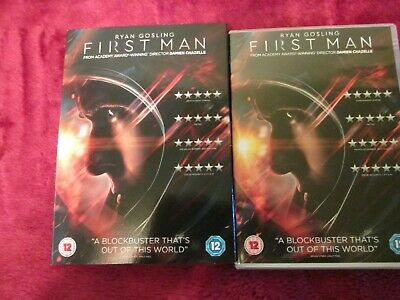 First Man - Ryan Gosling - Dvd 2019 - With The Outer Cover