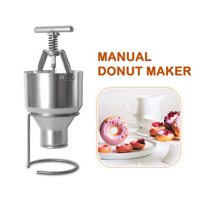 2.5L Manual Mini Donut Doughnut Machine Maker Manual Dispenser 6 Size