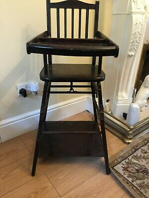 Victorian  child's metamorphic high chair
