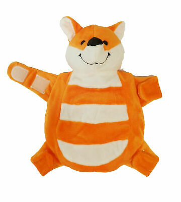 Sleepytot Baby & Toddler  Comforter Soother Holder soft toy Clip - Fox