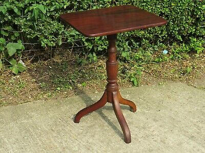 Good Quality Antique 19Th Century Mahogany Occasional Wine Table