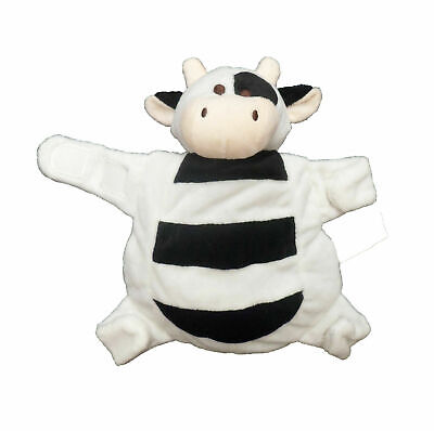 Sleepytot Baby & Toddler  Comforter Soother Holder soft toy Clip - COW