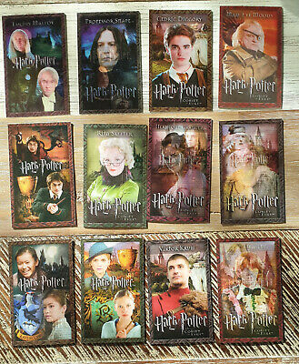 Harry Potter and The Goblet of Fire Lenticular Cards (16 Card Set)