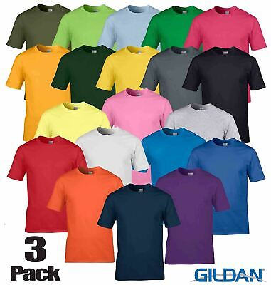 3 Pack Gildan Softstyle Ladies T Shirt Womens Tshirt Plain Wholesale Workwear