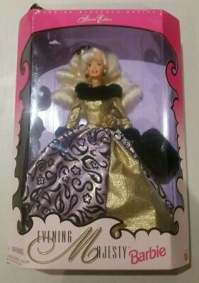 Evening Majesty 17235 Barbie doll ELEGANCE SPECIAL EDITION NRFB 1996.