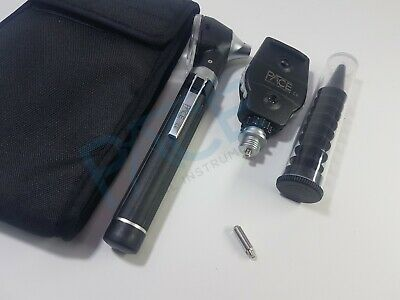 Premium Fiber Optic LED Otoscope Ophthalmoscope ENT Diagnostic Examination Set