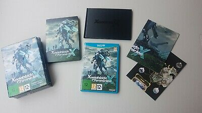 xenoblade chronicles x nintendo wii u limited edition limitée collector PAL EUR