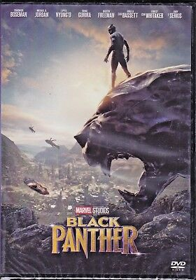 DVD Marvel Black Panther New 2018