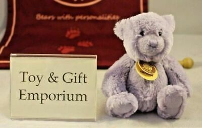 SPECIAL OFFER! Charlie Bears Lilac Travel Buddy LIVINGSTON (Brand New Stock!)