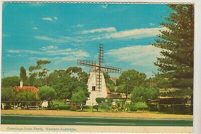 The Old Mill South Perth Western Australia Emu Postcard