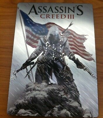 Assassins Creed III Steelbook Case