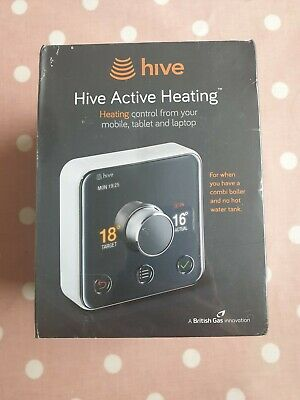 Hive active heating (for when you have a combi boiler and no hot water tank)