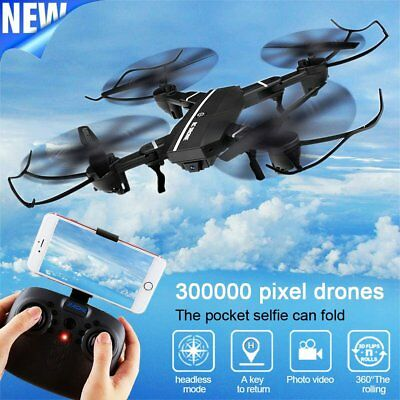 Mini 8807W Foldable With FPV HD Camera 2.4G 6-Axis RC Quadcopter Drone Toys~