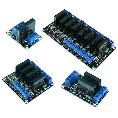 1 / 2 / 4 / 8 Channel 5V Solid State Relay Board SSR Raspberry Pi Arduino PIC