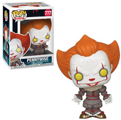 Funko Pop! It: Chapter 2 Pennywise with Open Arms Vinyl Figure in hand