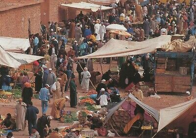 Carte postale cpm Maroc collection souk de Toundout p3