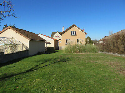 Detached town house for sale near Bellac town centre Limousin, SW France