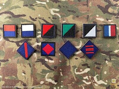 1//6 ww2 British Royal Ulster Rifles patches lot