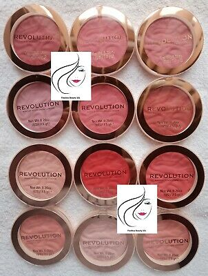 **NEW** Makeup Revolution Blusher Reloaded - 12 Options - FREE 1ST CLASS POST