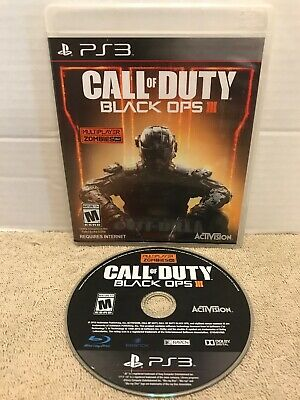 Call of Duty: Black Ops III - Multiplayer Edition Sony PlayStation 3 PS3 Tested