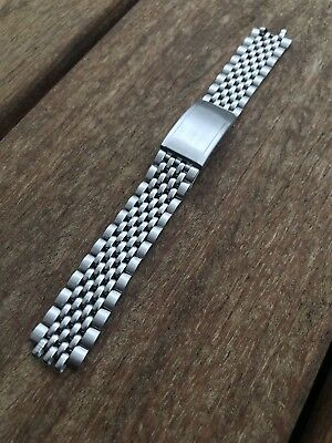 VINTAGE BEADS OF RICE stainless steel wrist band