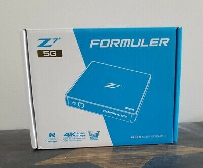 Formuler Z7+ 5G DUAL BAND WIFI Plus 4K IPTV Quad Core 2GB DDR4 Bluetooth