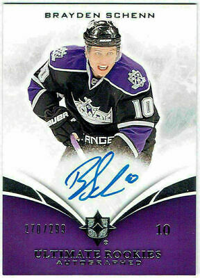 2010-11 Upper Deck Ultimate Rookies Auto BRAYDEN SCHENN 116 #270/299 Kings UD RC