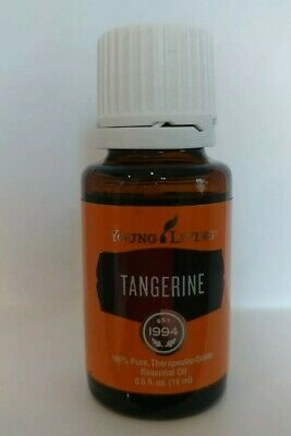 Young Living Tangerine Essential Oil 15 ml~Sealed New~100%Authentic~Theriputic
