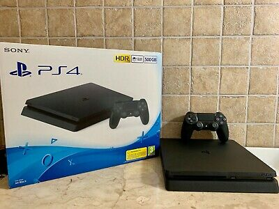 Console Sony PlayStation 4 Ps4 500gb Black COME NUOVA IN GARANZIA, PAYPAL