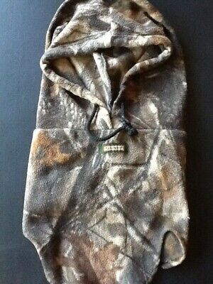 Remington hunting detached camouflaged hoodie
