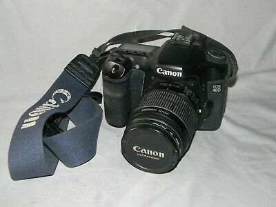 Canon EOS 40d With EFS 18-55mm Image Stabilizer Lens + UV Filter & Case