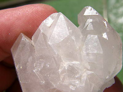 "Minerales "" Fabuloso Quarzo Natural Biangular De China  -   8A13 ""."