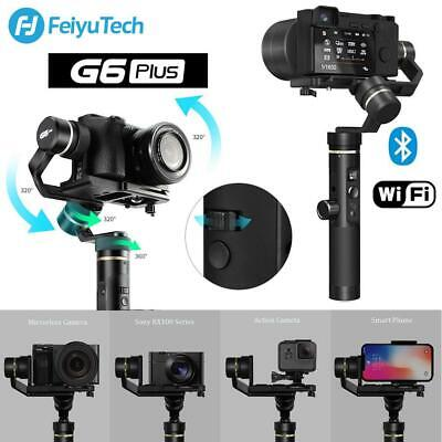 2019 Feiyu G6 Plus 3-Axis Handheld Gimbal Stabilizer for GoPro Hero Sony RX100
