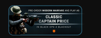 Call of Duty Black Ops IIII 4 DLC KEY CAPTAIN PRICE (ALL REGION)  XBOX/ PS4 / PC