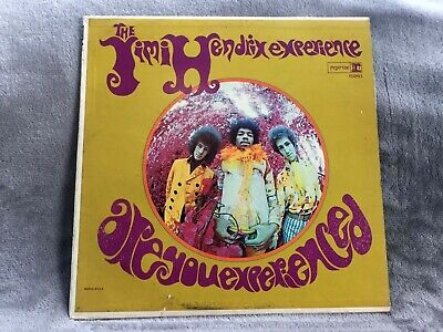 The Jimi Hendrix Experience. Are You Experience  Mono R 6261 Tricolor Psych Lp