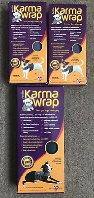 New (Size Small X2 Large X1 ) Petlife Karma Wraps - FREE POSTAGE!!
