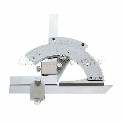 Carbon Steel 0-320° Degree Precision Angle Arm Measuring Finder Bevel Protractor