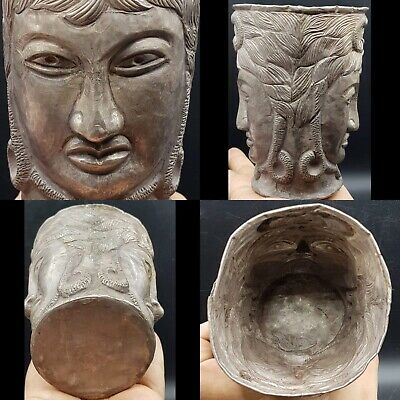 Stunning Ancient Silver Persian Pictorial Repousse Beaker cup 3rd 5th Cent AD