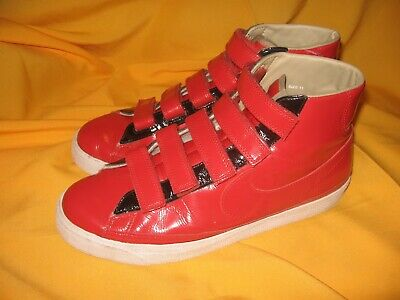 official photos 4d570 8dad1 NIKE BLAZER~AC HIGH Le Ds ~Men's shoes size 11~386162-661~Shiny red~Velcro