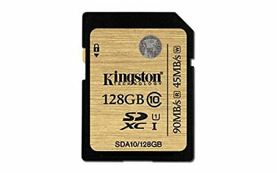 Kingston SDA10 128GB UHS-I SDHC/SDXC SD-Karte Class 10 Klasse 10 Speicherkarte